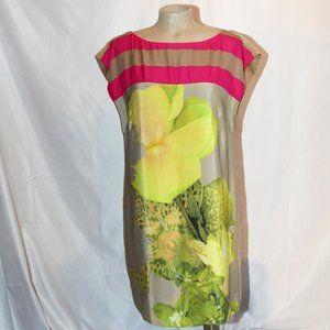 Tibi 100% silk dress size 10